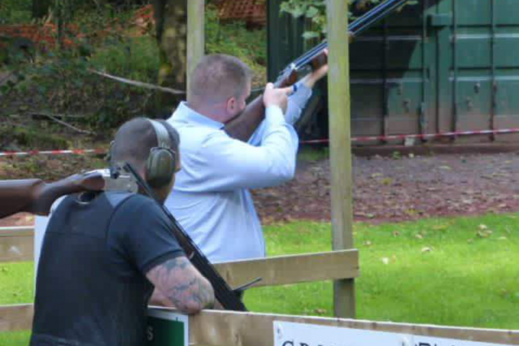 warton clay shoot